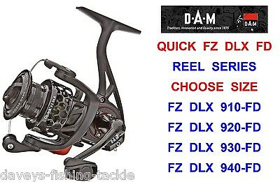 Dam Quick Fz Dlx Fd Reel For Lrf Drop Shot Pike Bass Fishing Spinning Rod Lures