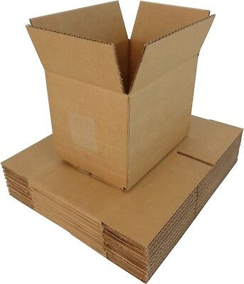 (10) DVBC10 Adjustable Cardboard DVD Mailers Shipping Boxes Containers Shippers