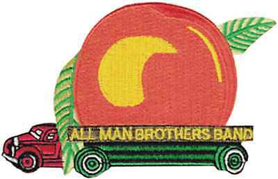 39132 Allman Brothers Band Peach Truck Logo Music Southern Rock Iron On Patch