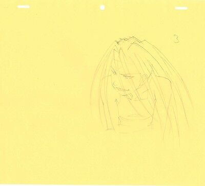 Anime Genga not Cel Fullmetal Alchemist 3 pages #239