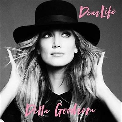 DELTA GOODREM Dear Life (Plus Fan Card Personally Signed by Delta) SINGLE CD NEW