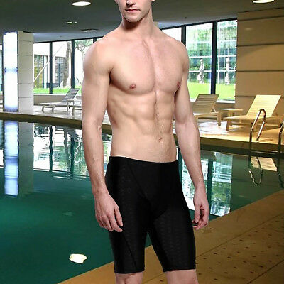 Men Repellent Professional Training Swimming Swimwear Fifth Pants Sport Shorts