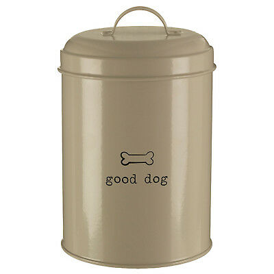 Good Dog 1.2 Litre Dry Animal Pet Meal Food Storage Bin Canister Container New