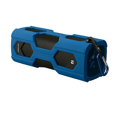 Bluetooth 4.0 Speaker NFC 10Watts and Water Resistence IPX6 with Microphone BLUE