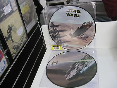 Star Wars The Force Awakens Picture Disc Rsd 2016  John Williams