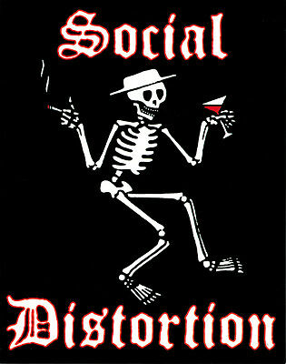 15107 Social Distortion Mike Ness Punk Rock Band Cowpunk Music Sticker / Decal