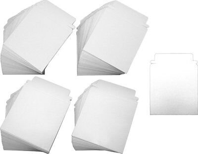 "(200) CDBC05PB Paperboard 5"" Single CD DVD Disc Boxes Mailers Self-Sealing Ship"