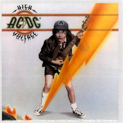 15370 AC DC AC/DC High Voltage Angus Young Rock 80s Music Band Sticker / Decal