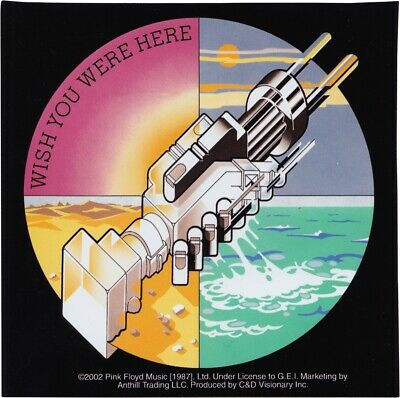 15205 Pink Floyd Wish You Were Here Sticker Decal 70's Psychadelic Rock