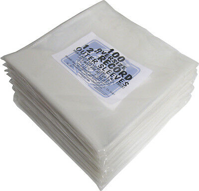 """(1000) 12SE03OS 12"""" Record Outersleeves OVERSIZE Album LP Covers High Clarity"""