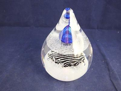 Caithness Glass Paperweight Space Beam me Up.