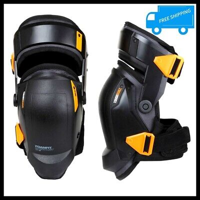 Professional Construction Knee Pads Pair Leg Work Comfort Safety Foam Protectors