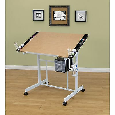 Studio Designs Deluxe Drafting and Hobby Craft Station Table