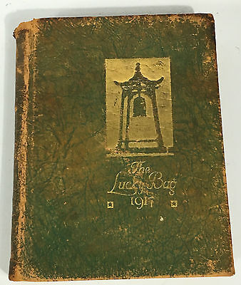 1917 US Naval Academy Lucky Bag Yearbook