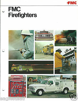 Fire Engine Brochure - FMC - Firefighters - Pumper Product Overview (DB174)