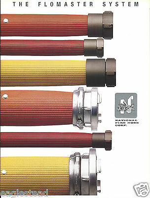 Fire Equipment Brochure - National Fire Hose - Flomaster System  (DB177)