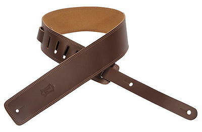 Levy's DM1 Brown Leather Guitar Strap