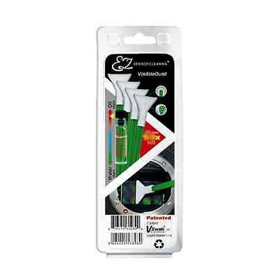Visible Dust 4PK 1.3x Green Swabs + Smear Away fluid Sensor Cleaning Kit
