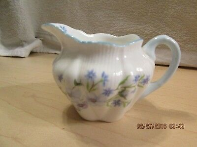 Shelley Fine Bone China Blue Rock Pattern #13591