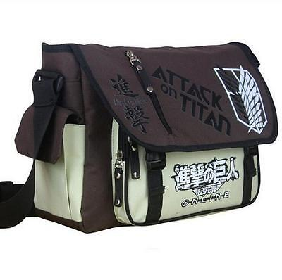 Shingeki no Kyojin Attack on Titan Segel Messenger Tasche Bag 37x27x12CM TOP !