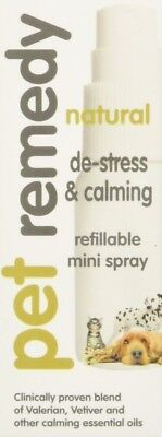 Pet Remedy De Stress & Calming Refillable Mini Spray (15 mL)
