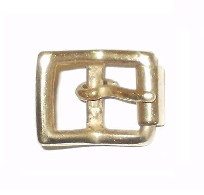 "ANTIQUE CROWN BRIDLE SOLID BRASS ROLLER BELT BUCKLE 1//2/""  to 1/"""