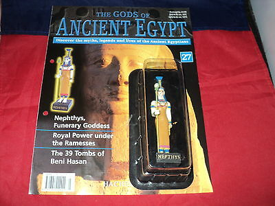 Hachette The Gods of Ancient Egypt - Issue 27 - Nephthys - funerary goddess