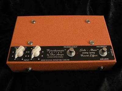 NEW VanAmps Sole -Mate REAL Spring Reverb - ORANGE