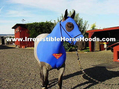 Small Superman Horse Sleazy Costume   * With Matching Tail Bag * S