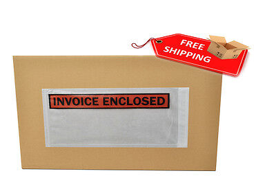 "7"" x 5.5"" INVOICE ENCLOSED ENVELOPE PANEL FACE 4000 Pieces"