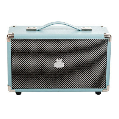 Retro Bluetooth Speaker - Blue - Large Portable Wireless - GPO Westwood