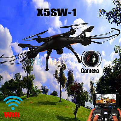2016 Upgrade Syma X5SW-1 Explorers 2 Wifi FPV RC Quadcopter Drone UFO Camera RTF