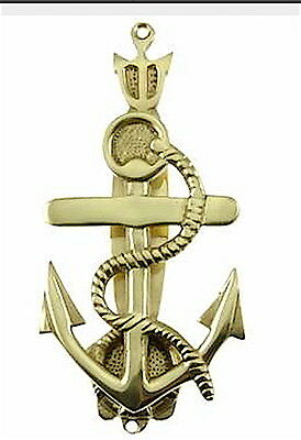 Nautical Door Knocker—Hand forged brass with choice finishes