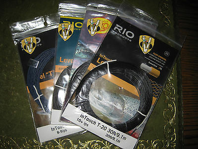 Rio In Touch Fast Sinking Level T Tungsten 30 Foot Coils T8 to T20 Cut To size