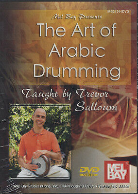 The Art of Arabic Drumming Hand Drum Tuition DVD Learn To Play Trevor Salloum