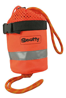 Boat Marine Safety Equipment 50 Foot Lifeline Throwing Bag Floating Rope
