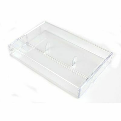 Tapeline Clear Plastic Cassette Library Case (single, with pins)