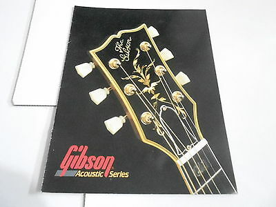 VINTAGE MUSICAL INSTRUMENT CATALOG #10687 -1970s GIBSON ACOUSTIC GUITARS