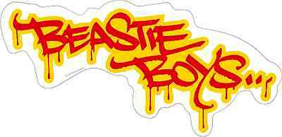 15789 Beastie Boys Graffiti Logo Rap Rock Band Music MCA Mike D Sticker / Decal