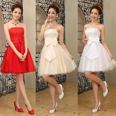 Womens Short Formal Dress Cocktail Prom Ball Gown Evening Party Bridesmaid Dress