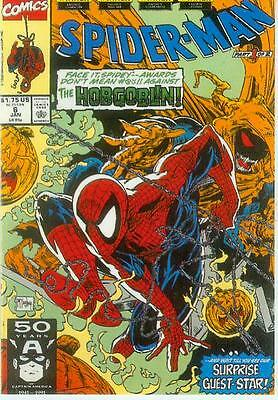 Marvel Comics Postcard: Spiderman # 6 cover (Todd McFarlane) (USA, 1991)
