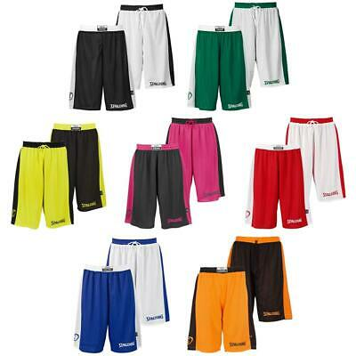 Spalding Essential Reversible Shorts Basketball Hose Short Wendehose