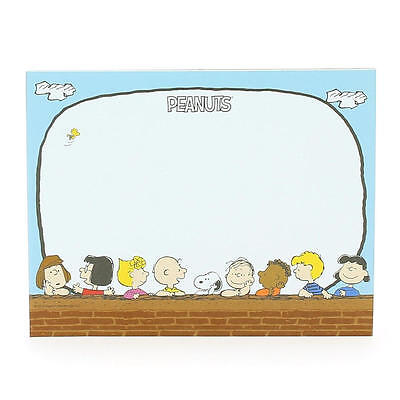 Peanuts Tear Off Paper Mouse Mat Pad Gift Desk Notes Office Snoopy Charlie Brown
