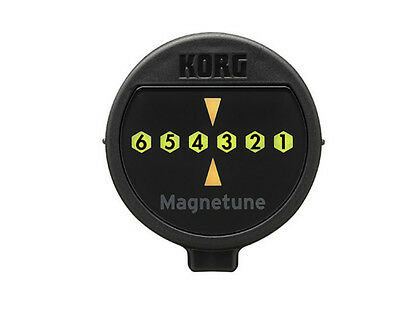 Korg MG-1 Magnetune Magnetic Clip On Electric / Acoustic Guitar Tuner (MG1 MG 1)