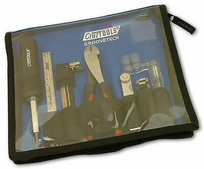 Cruztools Groovetech Guitar Player Tech Kit - Tools for Guitar Set-up & Repair