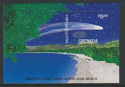 Grenada - 1986 Halleys Comet sheet - MNH - SG  MS1498