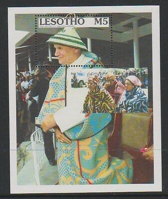 Lesotho - 1990 Traditional Blankets sheet - MNH - SG MS975