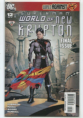 Superman #12 World Against - World Of New Krypton Near Mint  DC Comics **5