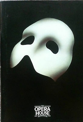 Phantom Of The Opera The Opera House Manchester Theatre Programme 1994