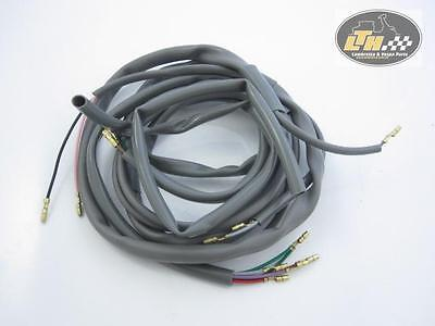 Cable loom Stop with 2 Cable with Battery (italian Lambretta Li